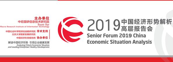 2019中国经济形势解析高层报告会