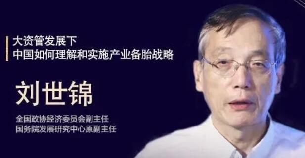 刘世锦:大资管发展下,中国如何理解和实施产业备胎战略