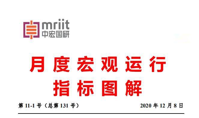 中宏国研月度宏观运行指标图解 第11-1号