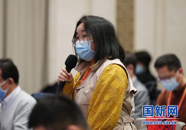中国日报记者提问